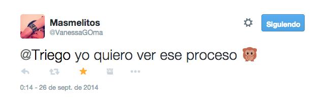 tweet con monito