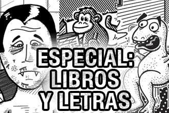caricaturas de libros